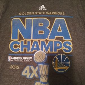 Adidas Golden State Warriors T-Shirt